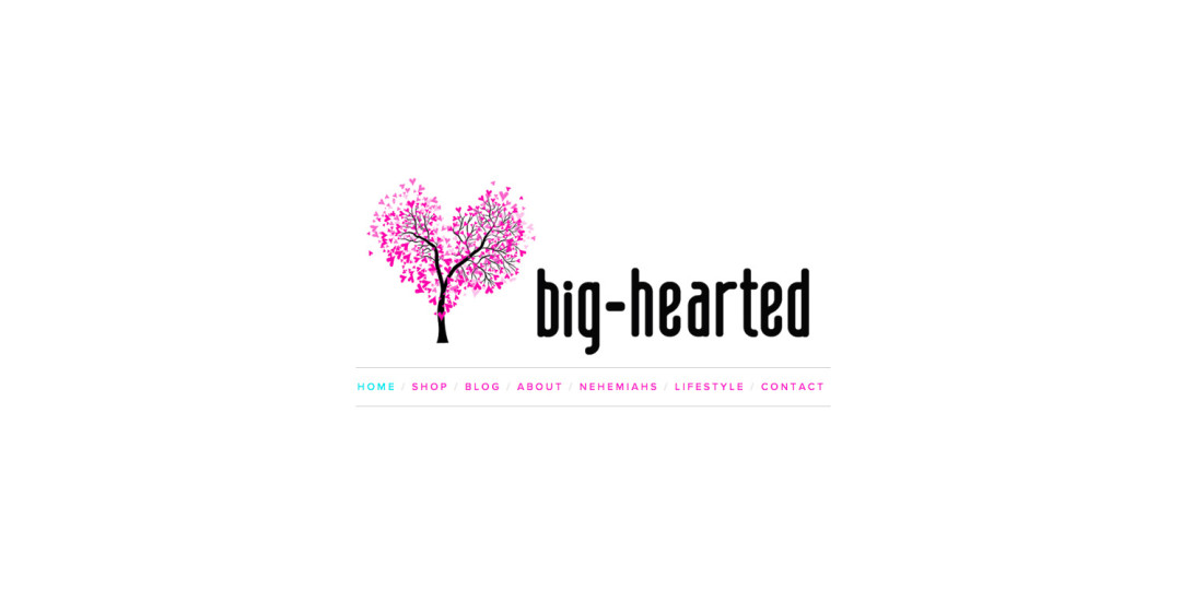 Big-hearted.net blog website