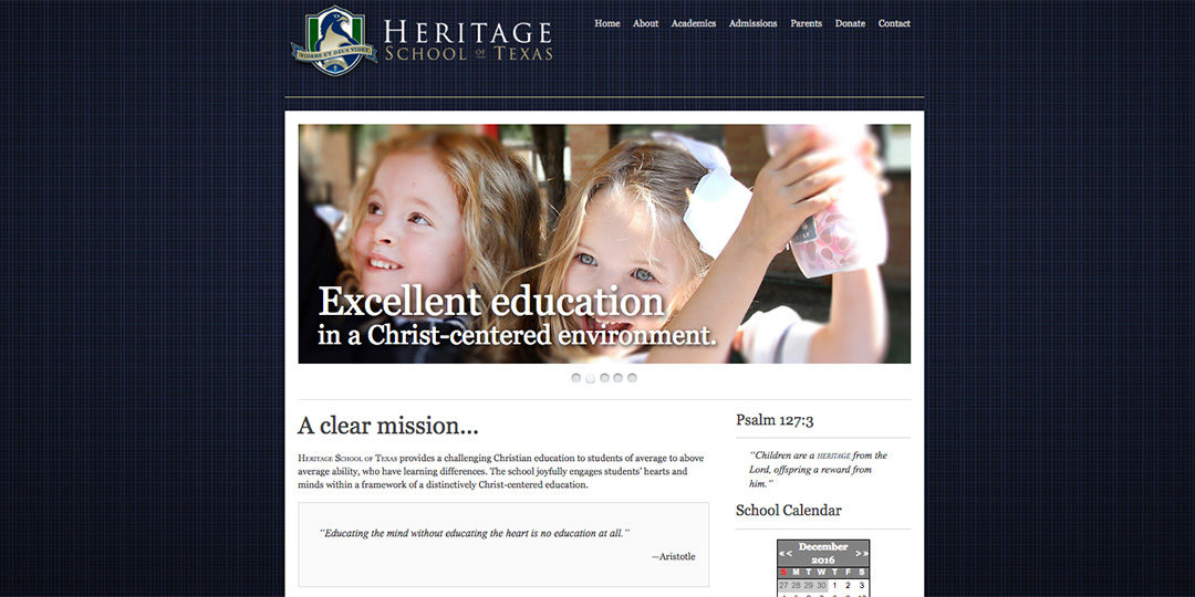 Heritage School of Texas image