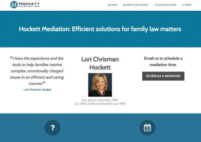 Hockett Mediation