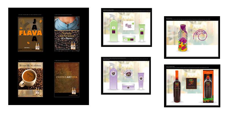 TidalBrain branding samples