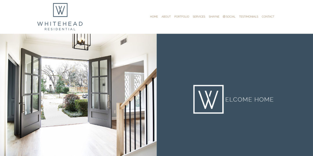 Whitehead Residential website by TidalBrain